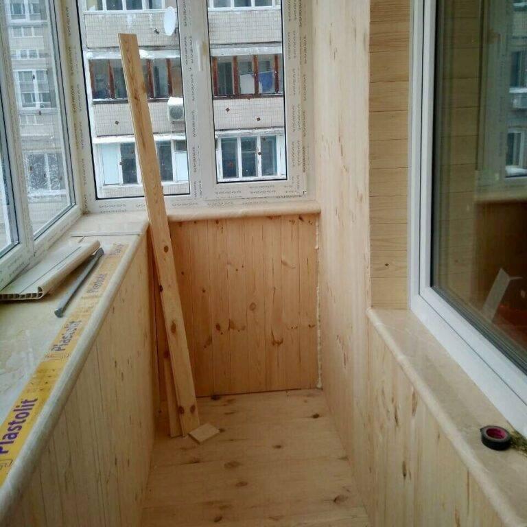 Как обшить балкон вагонкой своими руками - строительство и ремонт