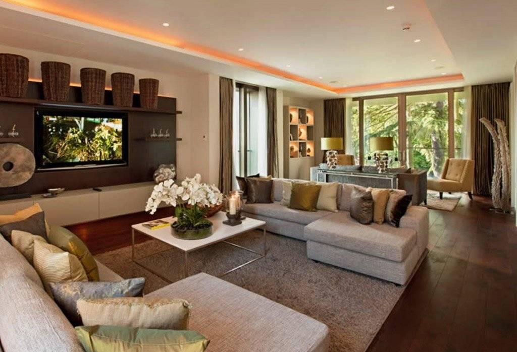 Современная гостиная в частном доме: 140 фото идей дизайна. варианты стильного обустройства интерьера