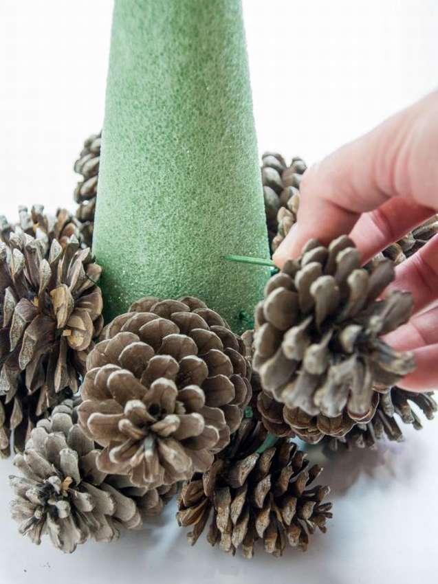 Поделки из шишек: удивительные метаморфозы лесных даров