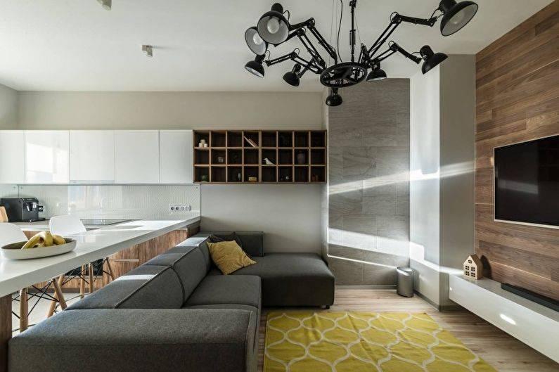 Кухня 20 кв. м. — 84 фото создания дизайна для большой кухни