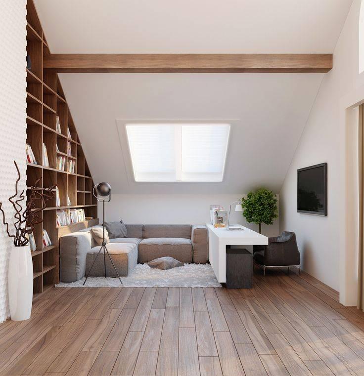 Отделка мансарды (105 фото): варианты облицовки мансардного этажа внутри своими руками, лучшие идеи по оформлению деревом