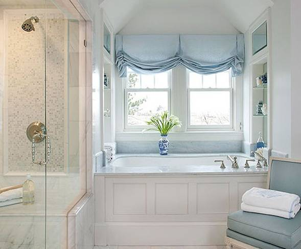 Ванная с окном: топ-50 фото модного дизайна