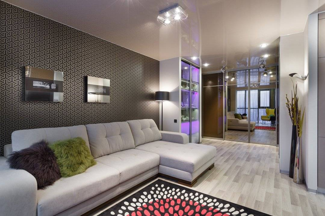 Варианты дизайна интерьера зала 18 кв. м