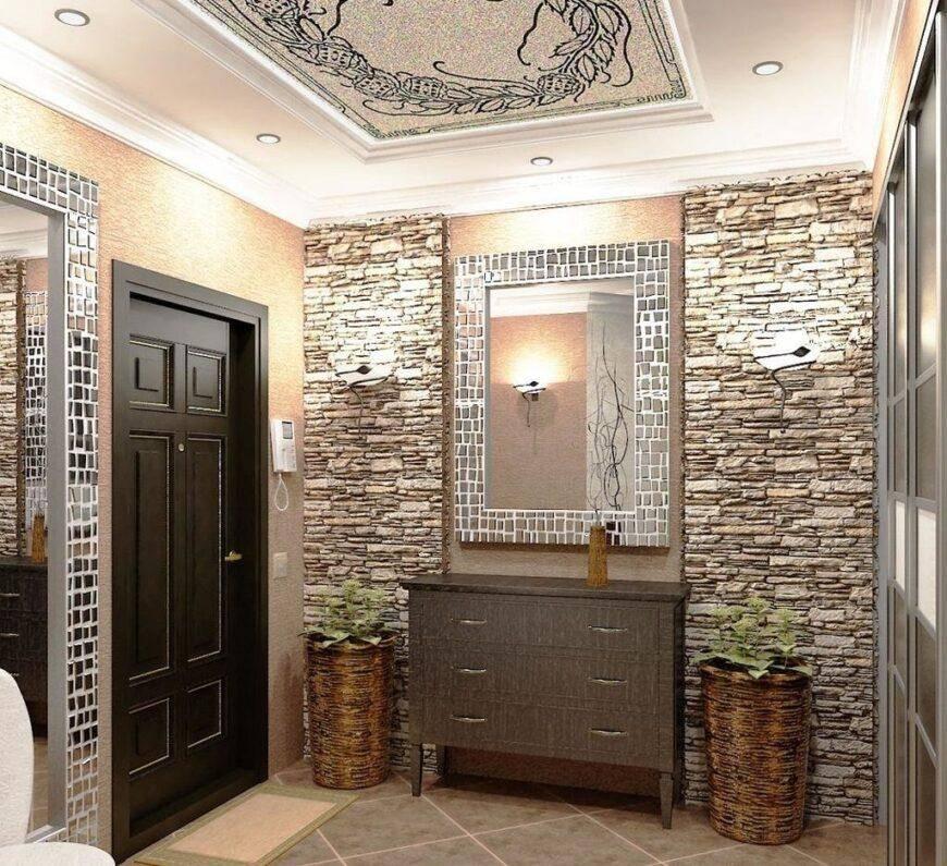 Дизайн коридора в квартире, приемы - фото примеров