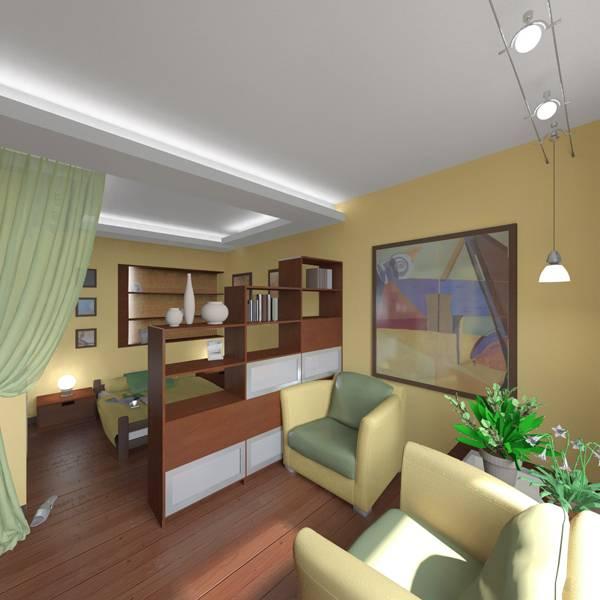 ???? секреты дизайнера: лучшие идеи по зонированию комнаты на спальню и гостиную