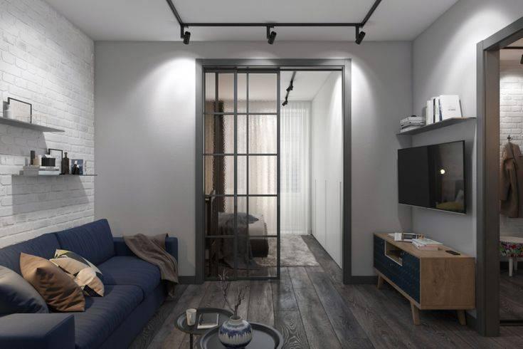 Дизайн студии площадью 28 кв. м +50 фото интерьера - «дизайн квартир»
