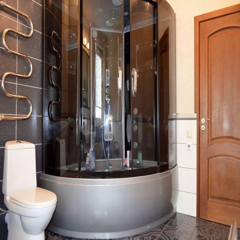 Душевая кабина без поддона - тренд ванной 2020 - 2021 года (+44 фото)   дизайн и интерьер ванной комнаты