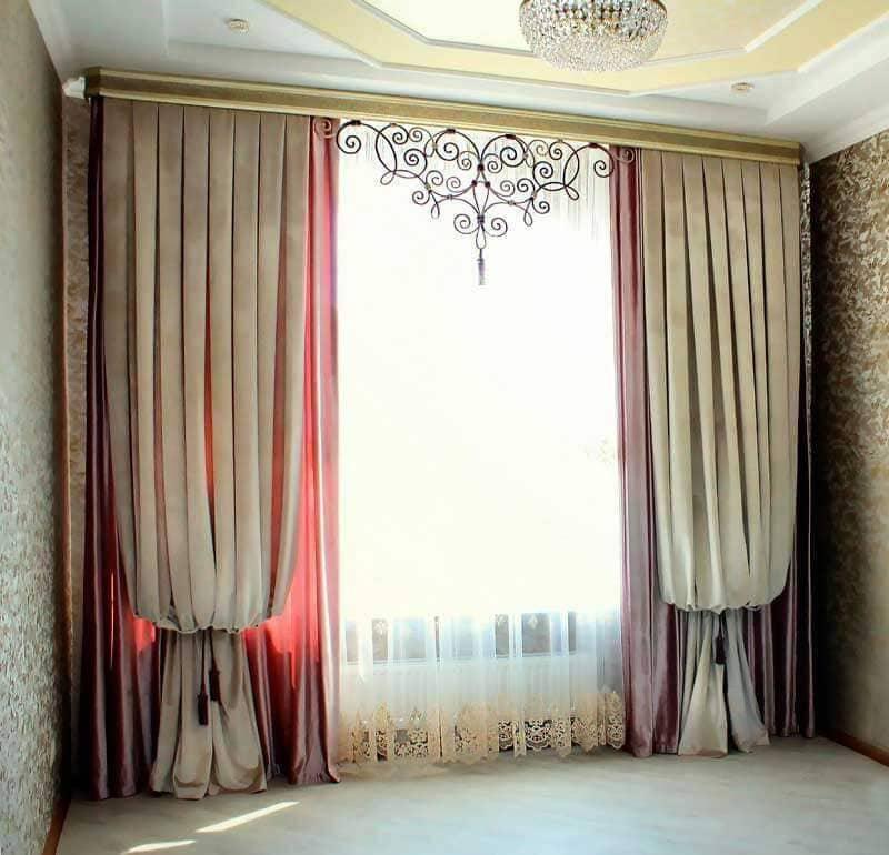 Занавески на окна: выбор материала, ткани и сочетание цветов занавесок на окна. отличительные черты занавесок по механизмам и карнизам (120 фото + видео)