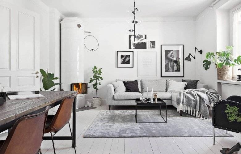 Белый пол в интерьере - варианты оформления, примеры, пошаговая инструкция
