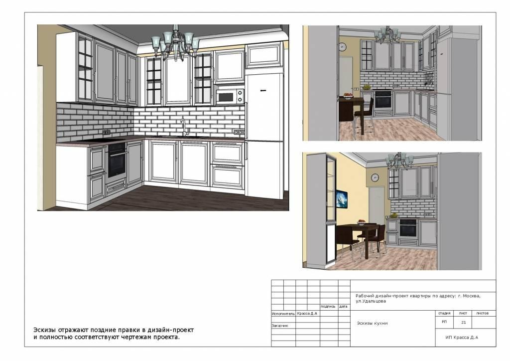 Проект кухни — идеи для правильной планировки пространства