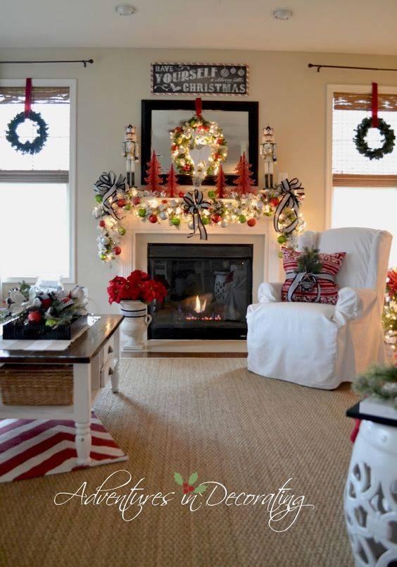 Как украсить комнату на новый год 2021: фото идей праздничного декора