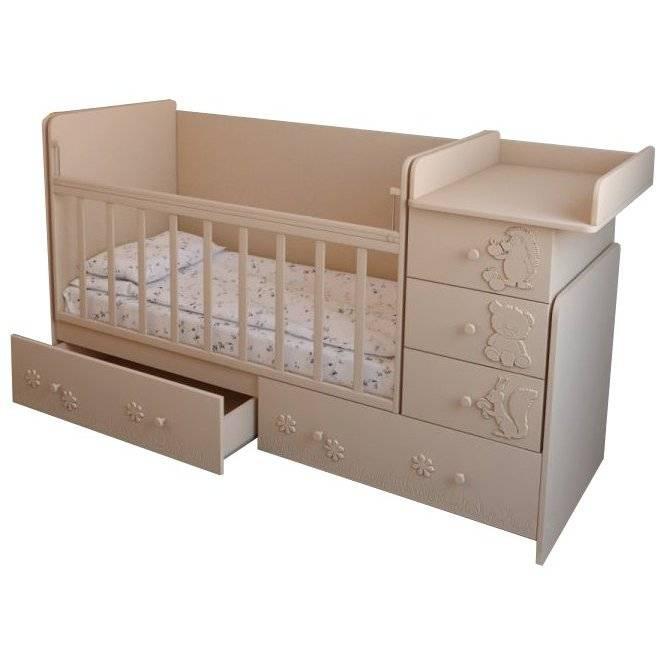 Кроватки для новорожденных: рейтинг лучших производителей, трансформеры