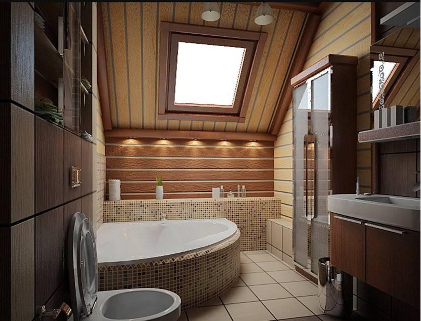 Ванная комната на даче (74 фото): дизайн и отделка в дачном доме, идеи оформления интерьера в частном доме, секреты удачной планировки. как обустроить?