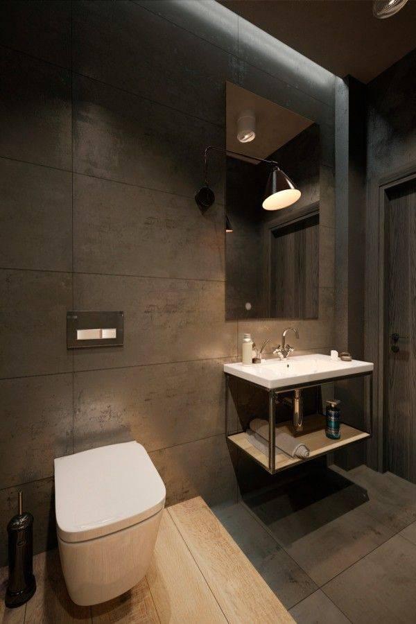 Туалеты в стиле лофт фото - 1 000, дизайн туалета, варианты оформления и декора туалетных комнат