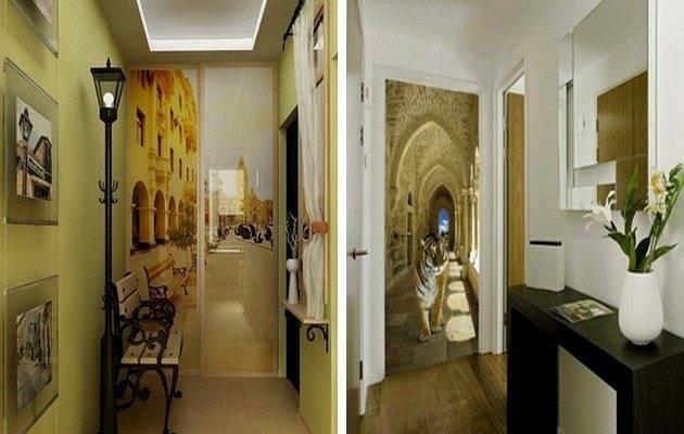 Дизайн узкого коридора (87 фото): интерьер коридора в квартире, идеи и решения в «хрущевке». как визуально расширить маленький коридор? оформление