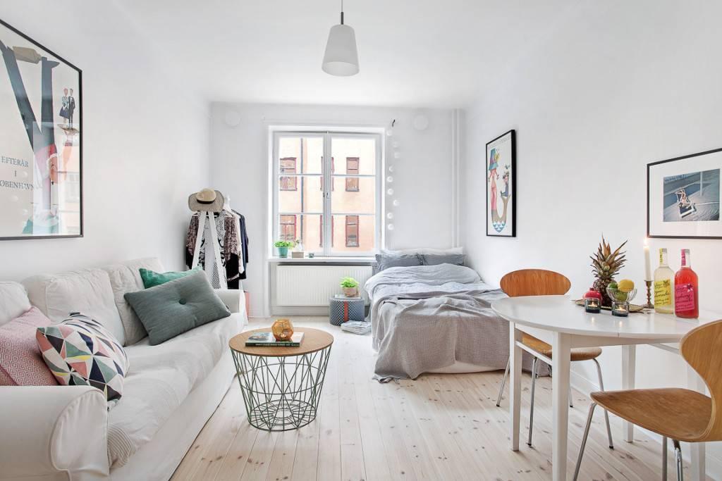 Маленькие скандинавские квартиры (47 фото)   «печёный»