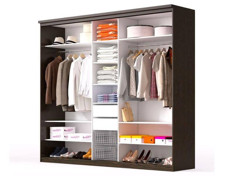 Внутреннее наполнение для шкафов купе: фото, рекомендации, советы