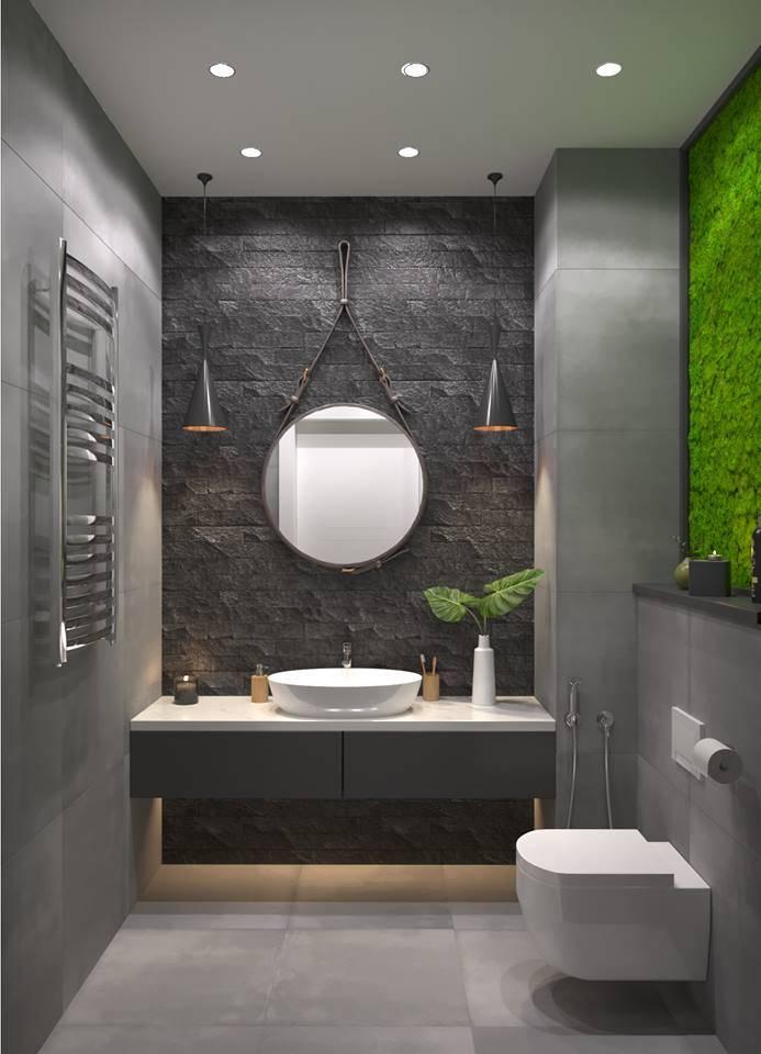 Маленькая ванная — идеи дизайна. 9 самых интересных тенденций 2020 года (+54 фото)