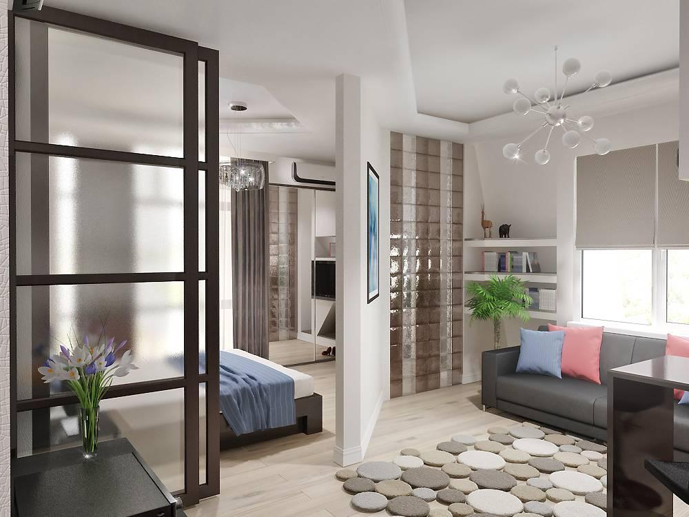 Как оформить дизайн квартиры 30 кв.м. (80 фото)