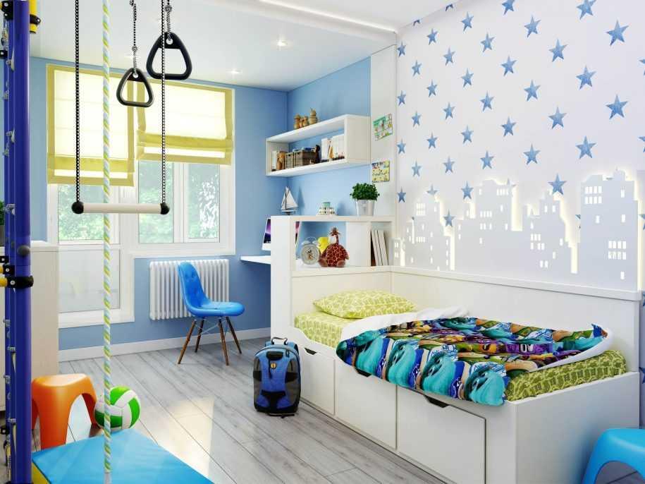 100 лучших идей: обои в детской комнате для мальчика