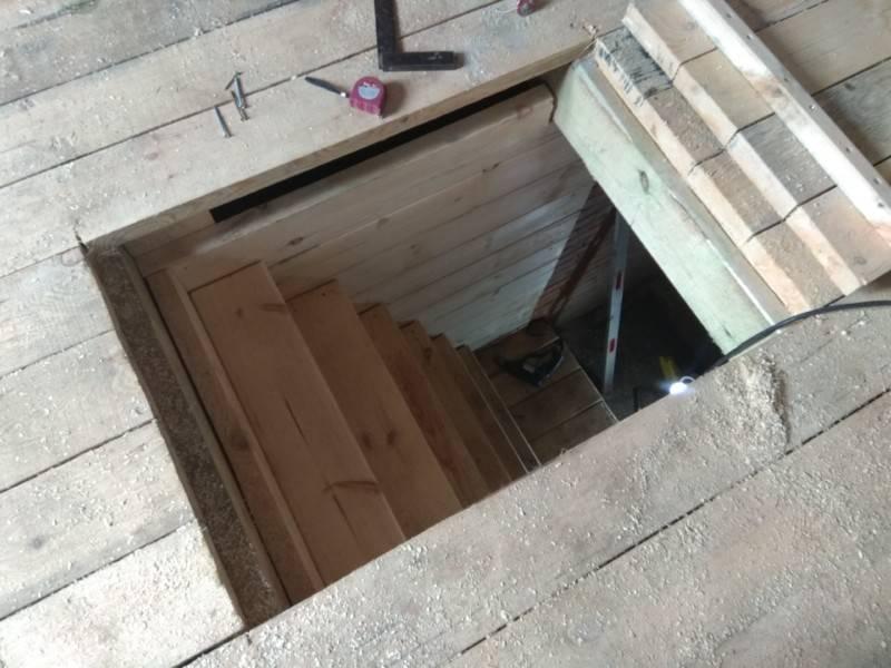 Погреб своими руками на даче — пошаговое строительство, фото