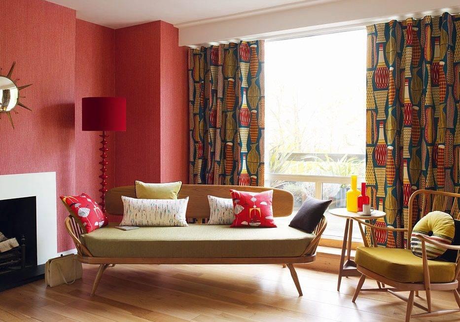 Ретро стиль в интерьере: дизайн спальни, кухни - 24 фото