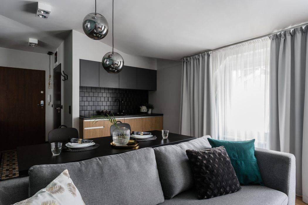 Дизайн однокомнатной квартиры 36 кв.м - 75 вариантов интерьера