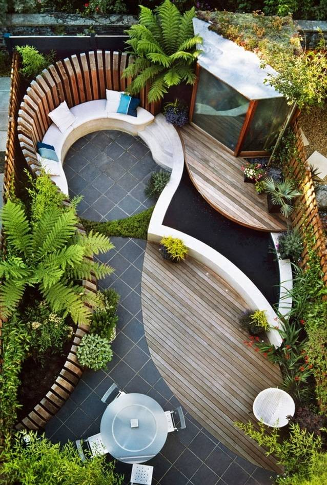 Ландшафтный дизайн дачного участка: 100 красивых идей
