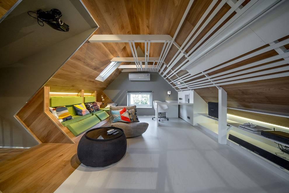 Планировка мансарды: 120 фото лучших идей и новинок дизайна (схемы зонирования)варианты планировки и дизайна