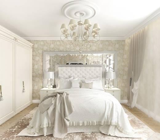 Спальня в светлых тонах: оригинальные сочетания и стильные решения при украшении спален (95 фото)