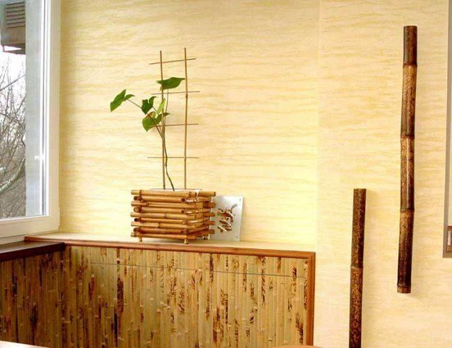 Бамбук в интерьере кухни: примеры эко дизайна для жизни в гармонии с природой