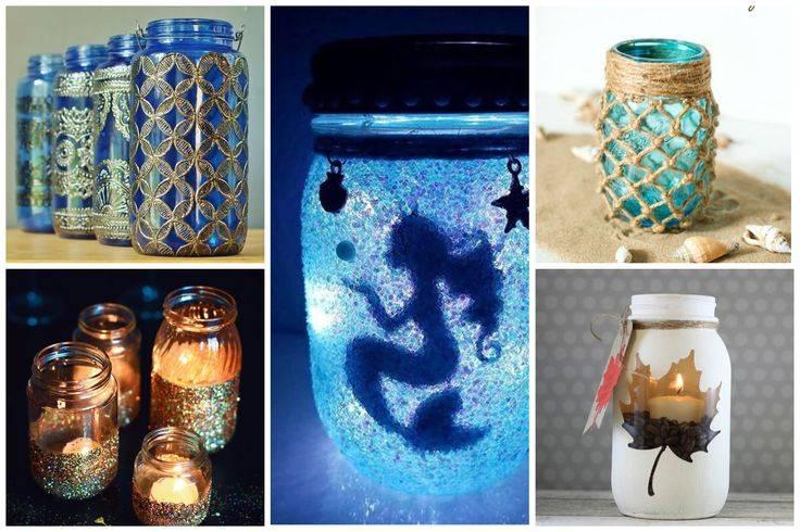 Поделки из стеклянных, жестяных, пластиковых банок - 69 необычных фото идей