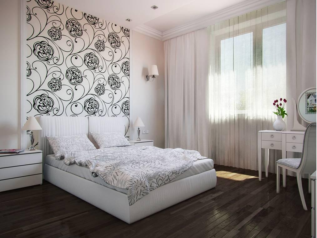 Обои для спальни (фото), дизайн 2020 года: новинки, комбинированные