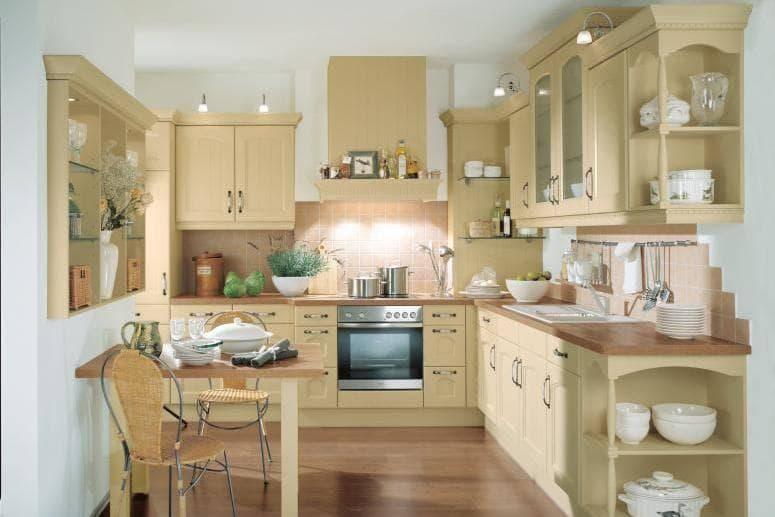 Дизайн кухни в стиле ретро – идеи для интерьера