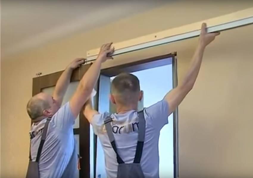 Установка дверей купе своими руками: пошаговая инструкция и видео