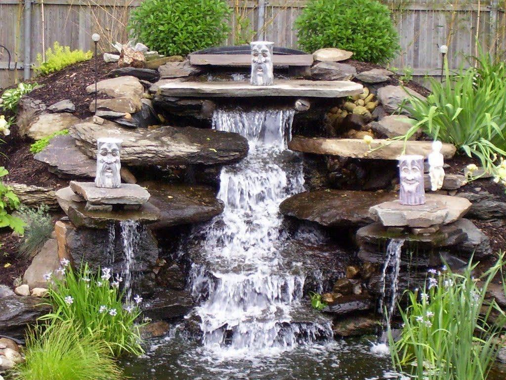 Водопад своими руками - 135 фото и видео примеры с пошаговым описанием как построить водопад