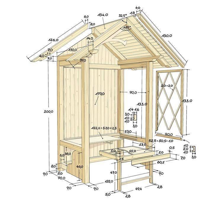 Дачный туалет своими руками: 12+ чертежей, пошаговая инструкция по строительству