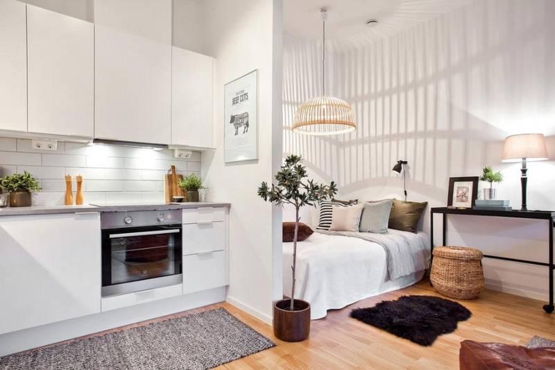 Дизайн студии 20-21 кв. м: фото, ремонт маленькой квартиры, интерьер, выбор современной планировки, как правильно обустроить каждую зону, расстановка мебели