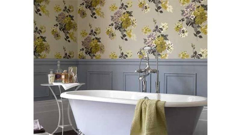 Чем отделать стены в ванной комнате кроме кафельной плитки