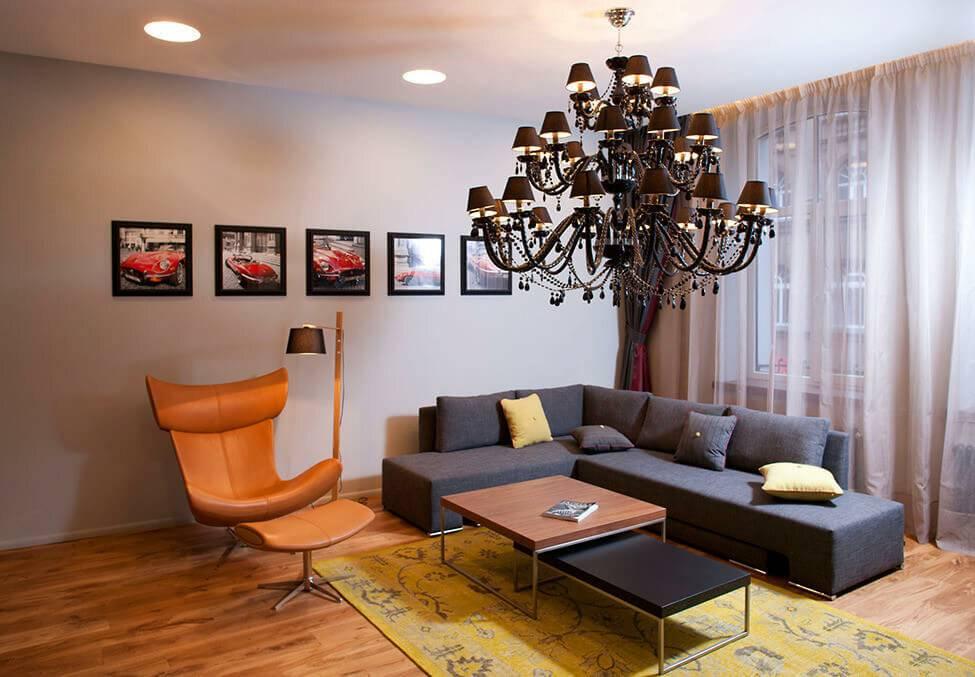 Освещение в гостиной: особенности, виды и фото лучших решений