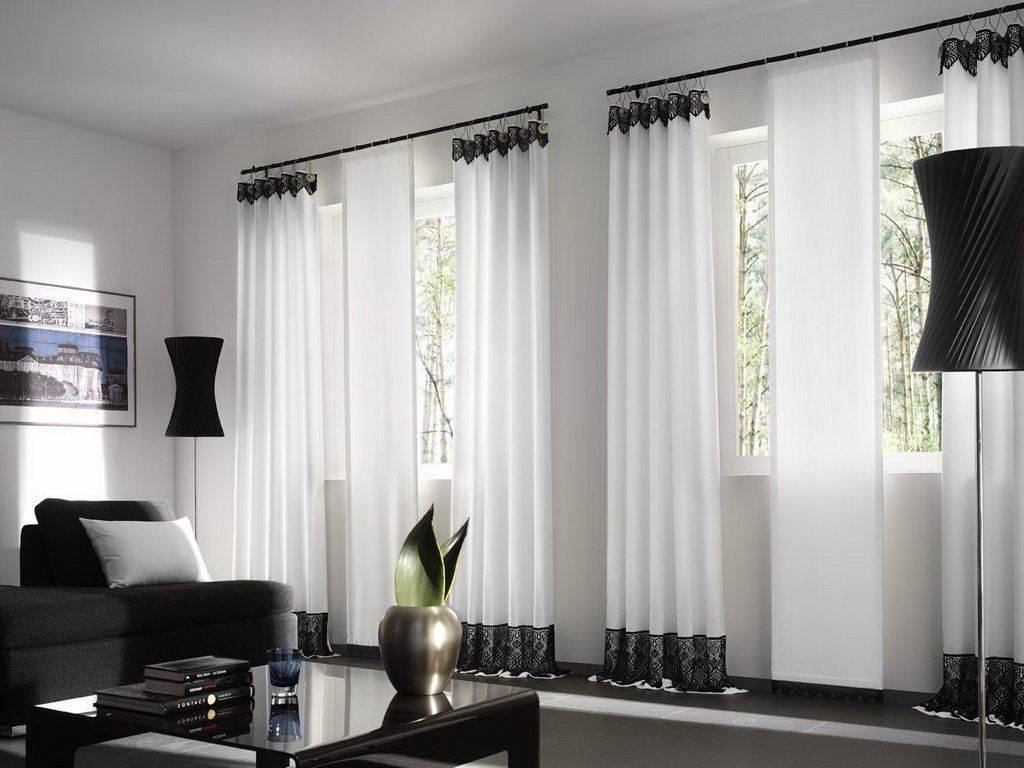 Короткие шторы - 120 фото идей дизайна и сочетания в интерьере