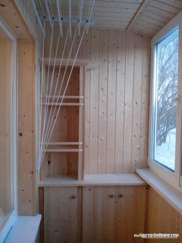 Этапы создания интерьера балкона для обшивки его вагонкой