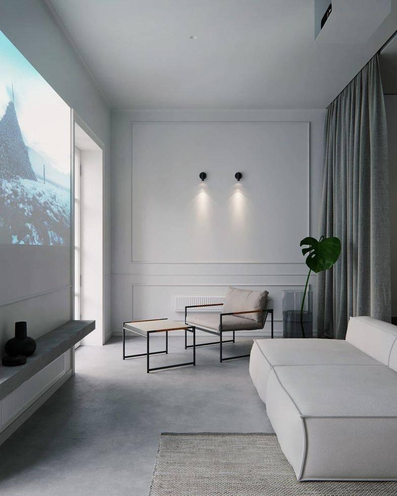 Интерьер в стиле минимализм - 55 фото использования аскетичного формата