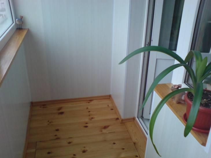 Пол на балконе: какой материал выбрать, фото и рекомендации