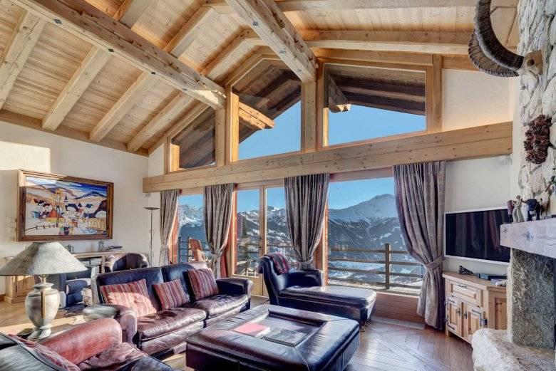 Кухня в стиле альпийского шале