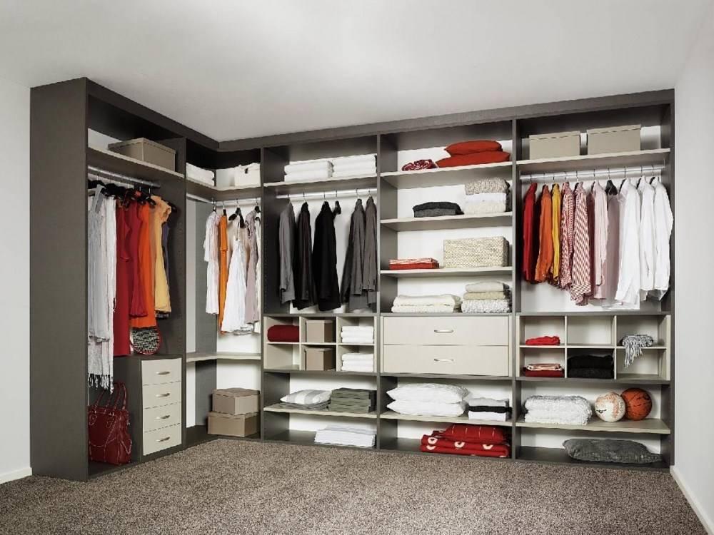 Планировка гардеробной с размерами: как правильно спланировать комнату