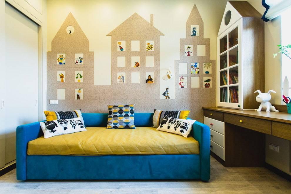 Как украсить стену в детской комнате: цвета, декор, украшения, трафареты, лучшие идеи
