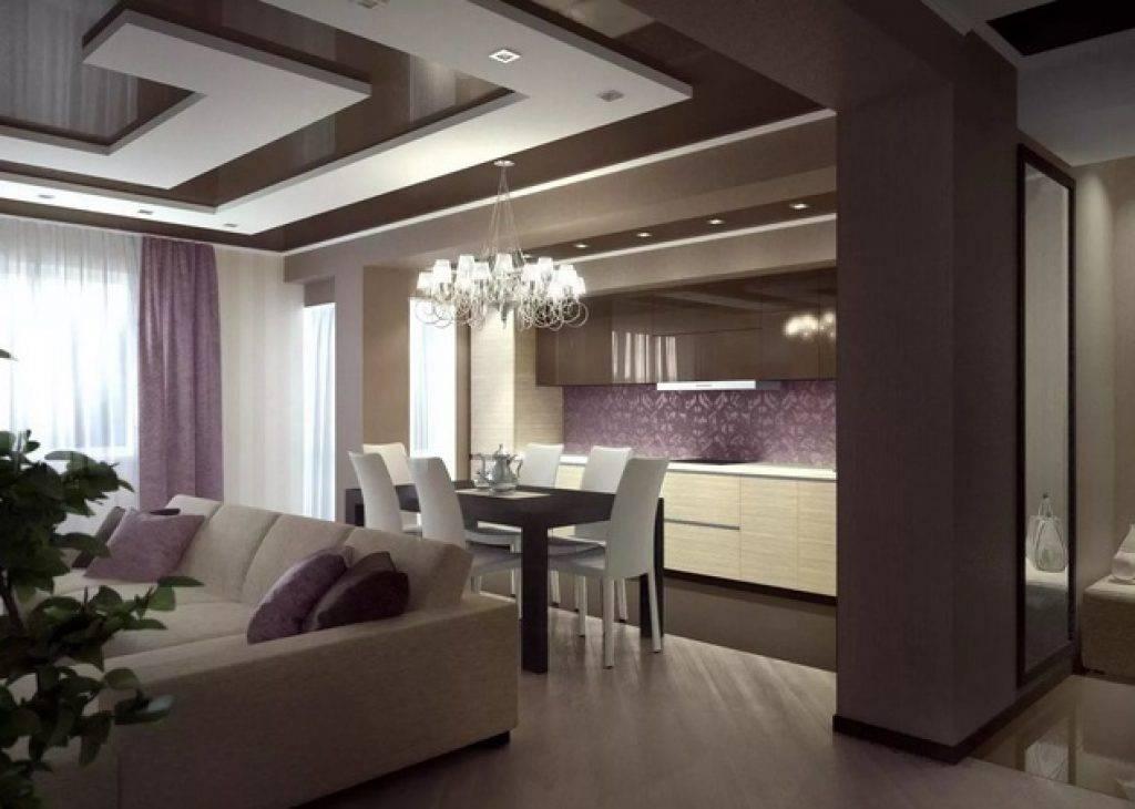 Есть решение: 9 вариантов дизайна кухни-гостиной 30 кв.м