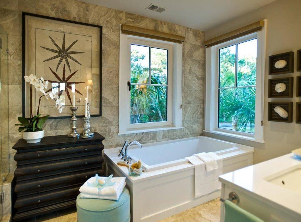 Обои для ванной: какие выбрать и как их правильно поклеить (55 фото)