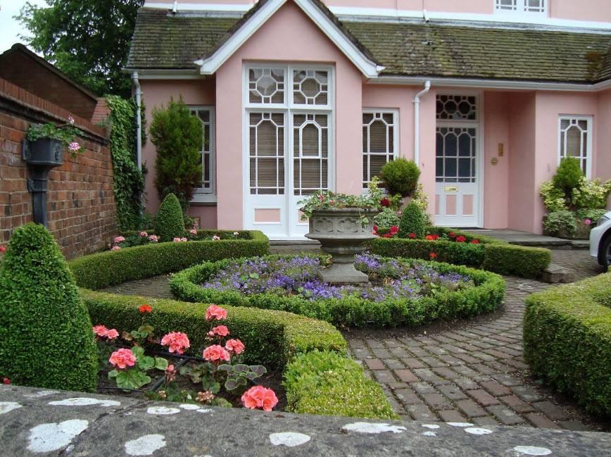 Ландшафтный дизайн загородного дома: 100 фото красивых примеров